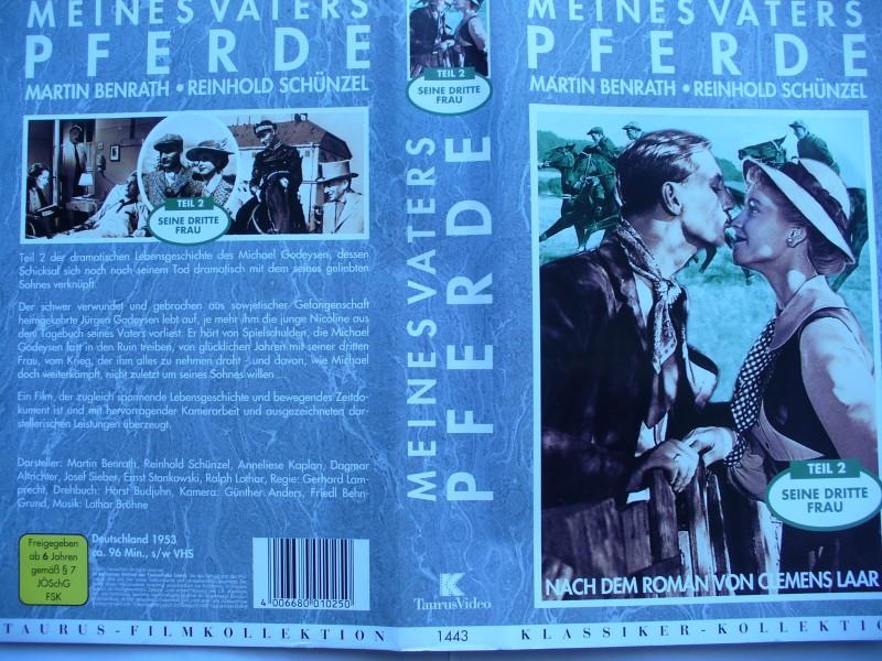 Meines Vaters Pferde - Teil 2 ... Curd Jürgens  ...  VHS