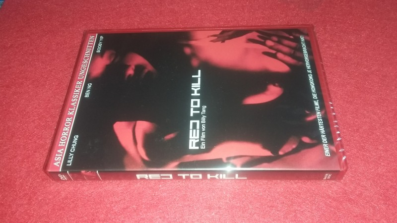 Red To Kill - Neu & OVP - Cover C - Limitiert - Asia Horror