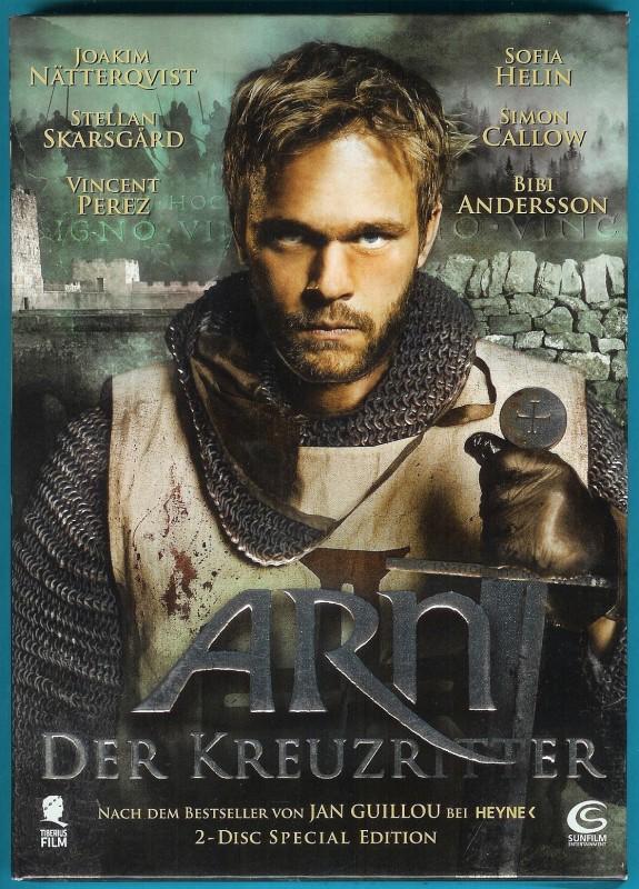 Arn - Der Kreuzritter (2 DVDs) Joakim Nätterquist s. g. Zust