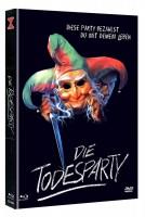 Die Todesparty - Mediabook B (BLu Ray+DVD) NEU/OVP