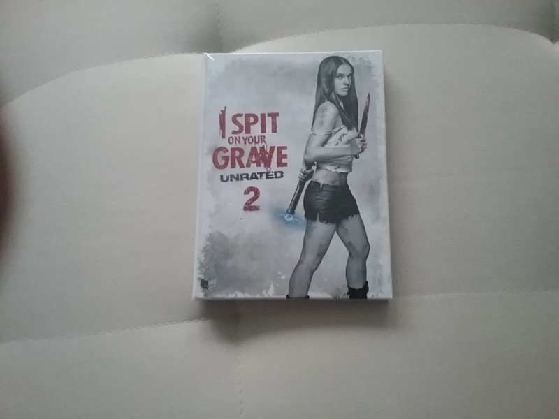 I Spit on your Grave  2  Mediabook  Cover A   Ovp