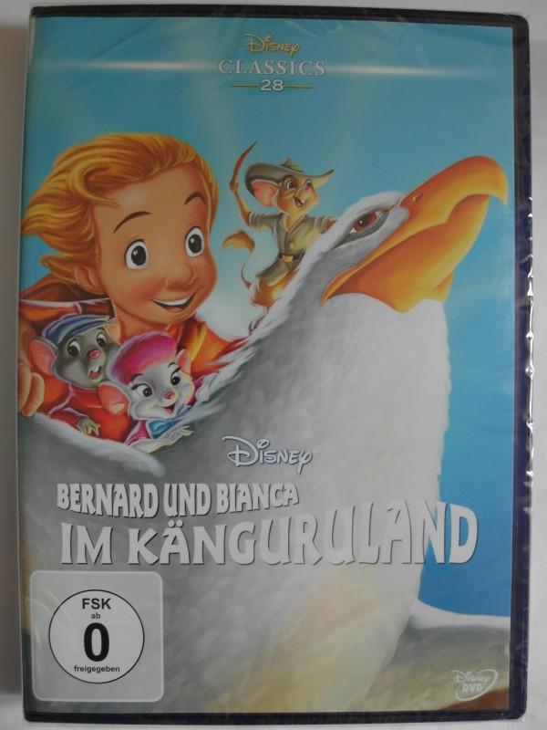 Bernard und Bianca im Känguruland - Walt Disney, Animation