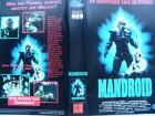 Mandroid ... Brian Cousins, Jane Caldwell ...VHS ... FSK 18