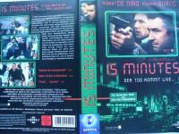 15 Minutes ...Robert De Niro, Edward Burns ...VHS ...FSK 18