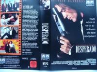 Desperado ... Antonio Banderas  ... VHS ... FSK 18