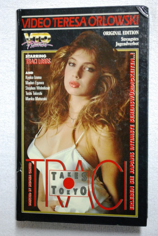 Traci takes Tokyo - VHS - Traci Lords