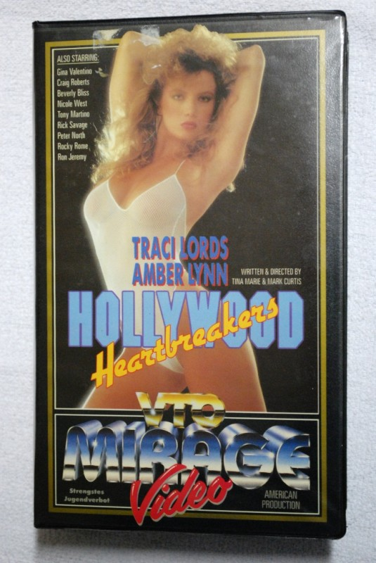 Hollywood Heartbreakers - VHS - Traci Lords - Amber Lynn