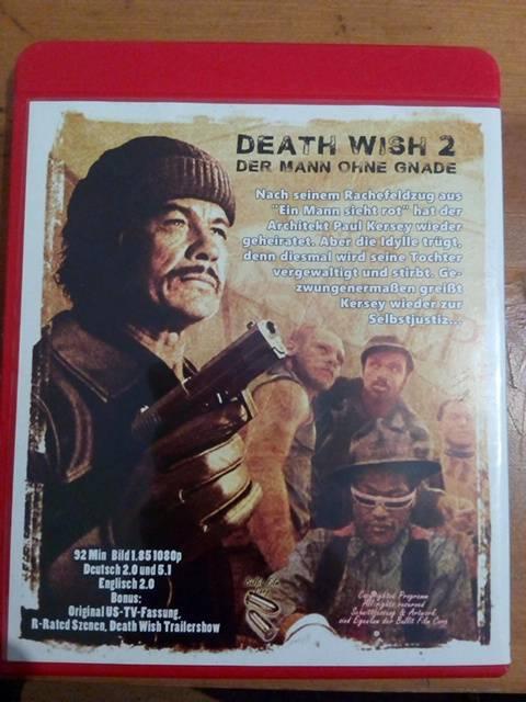 Death wish 2 uncut  blu ray
