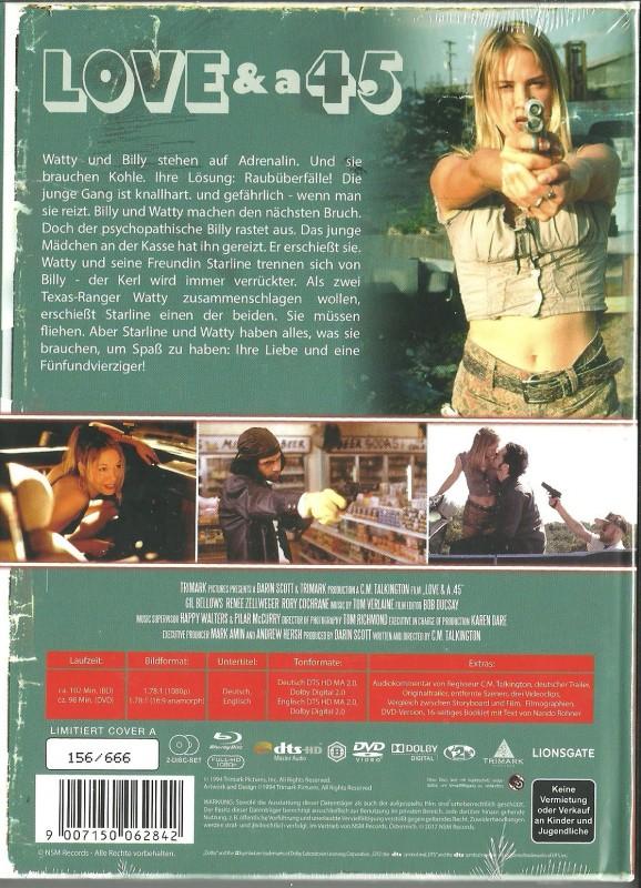 LOVE & a . 45 - Mediabook  OVP