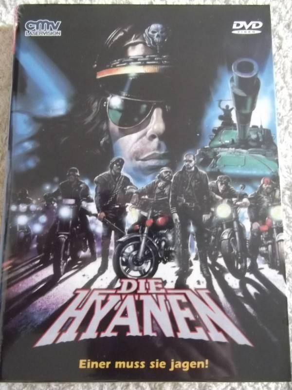 DIE HYÄNEN UNCUT DVD 2-DISC HARTBOX + BONUSFILM COVER C NEU