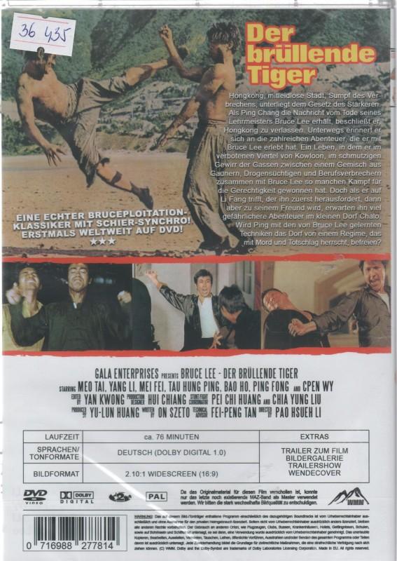 Bruce Lee - Der brüllende Tiger (36435)