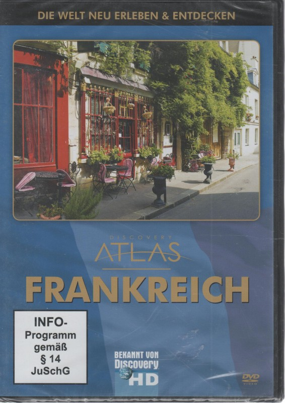 Discovery Atlas : Frankreich (36462)