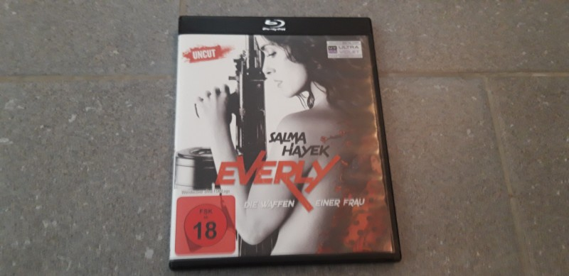 Salma Hayek - Everly - Die Waffen einer Frau- Blu-Ray Uncut