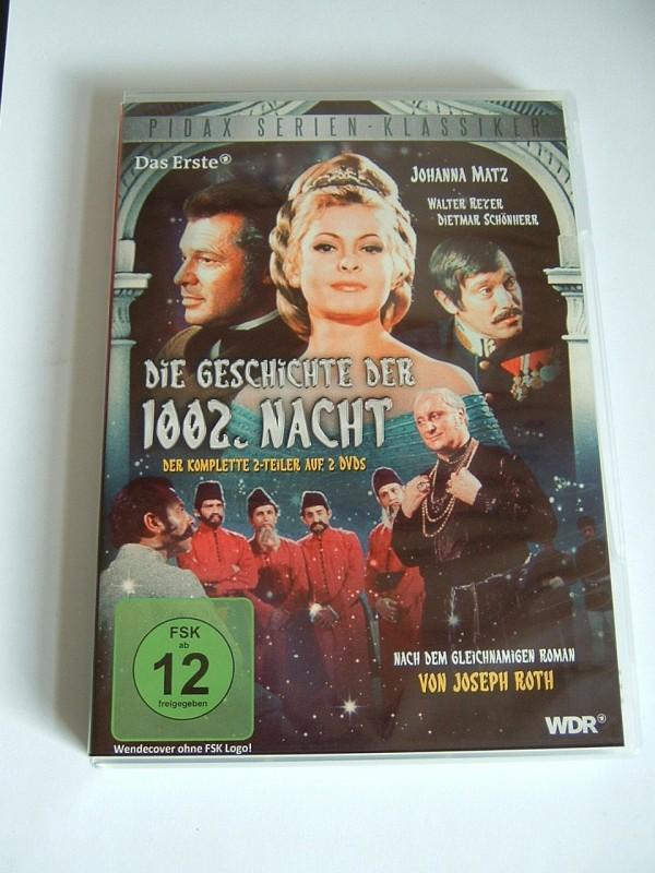 Die Geschichte der 1002. Nacht (2 Teiler, 2 DVD´s, Pidax)