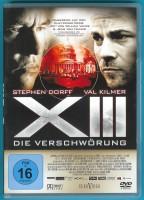 XIII - Die Verschwörung DVD Val Kilmer fast NEUWERTIG