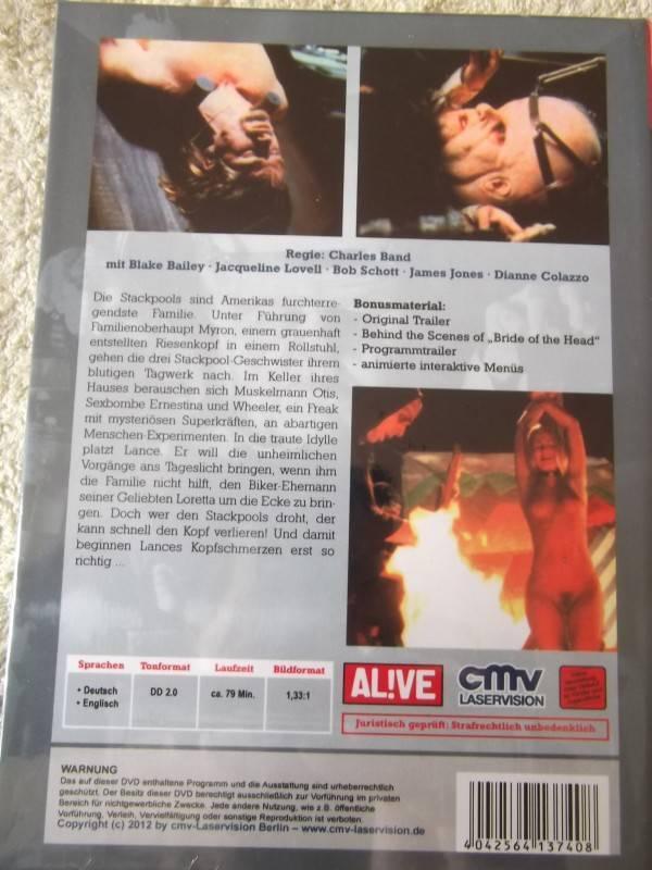 THE BRAIN UNCUT DVD HARTBOX  NEU / OVP
