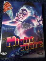 NIGHTMARE ON THE STREET UNCUT DVD HARTBOX COVER: A NEU / OVP