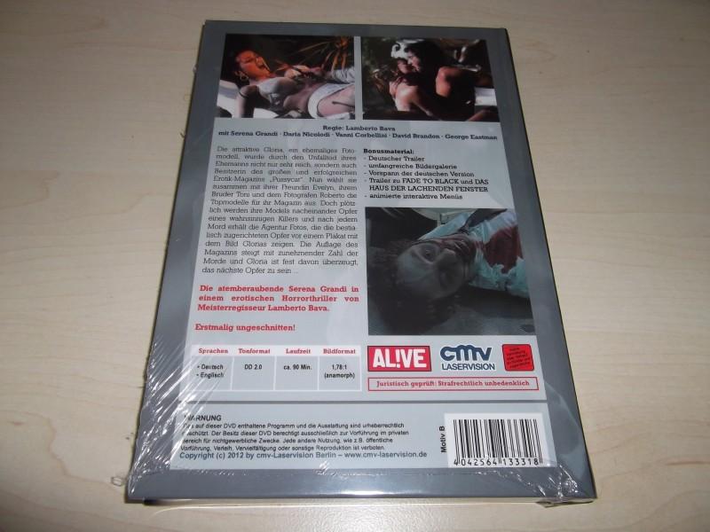 DAS UNHEIMLICHE AUGE UNCUT DVD HARTBOX COVER : B NEU / OVP