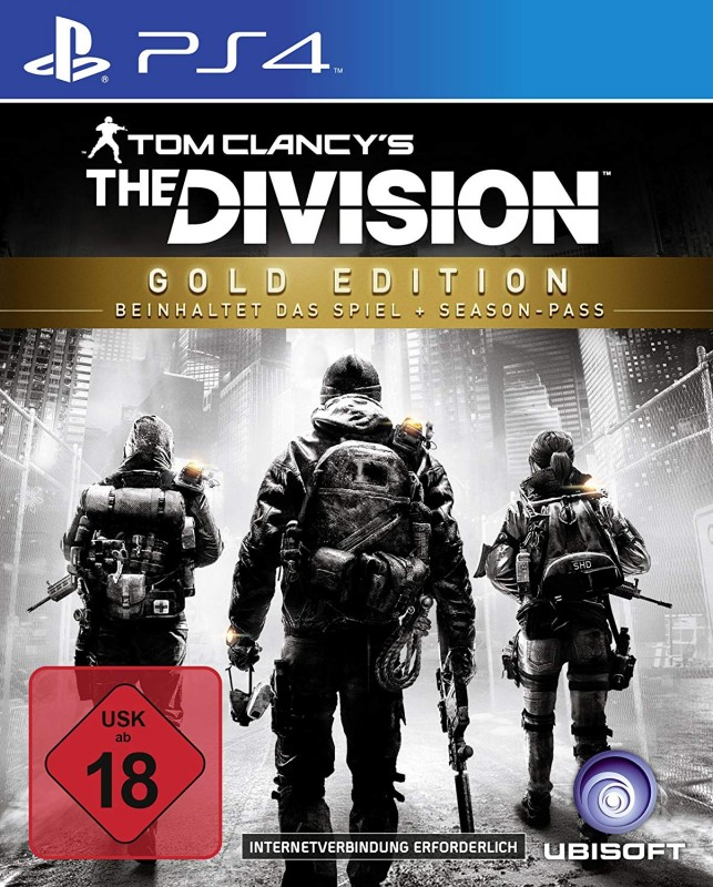 The Division ( Gold Edition ) ( PS4 ) ( OVP )