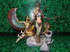Spawn Tiffany the Huntress II Custom Diorama