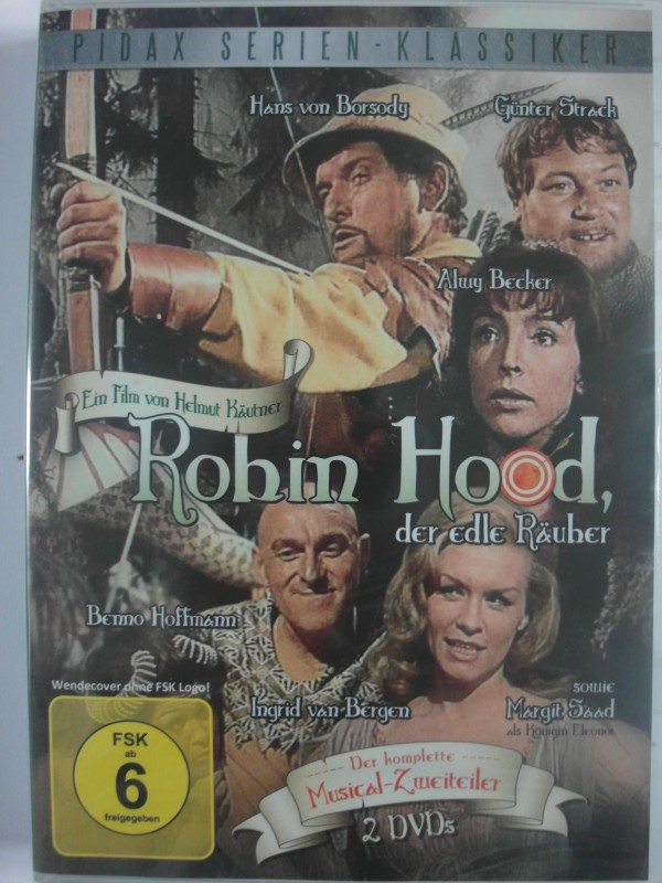Robin Hood, der edle Räuber - Pidax Musical - Günter Strack