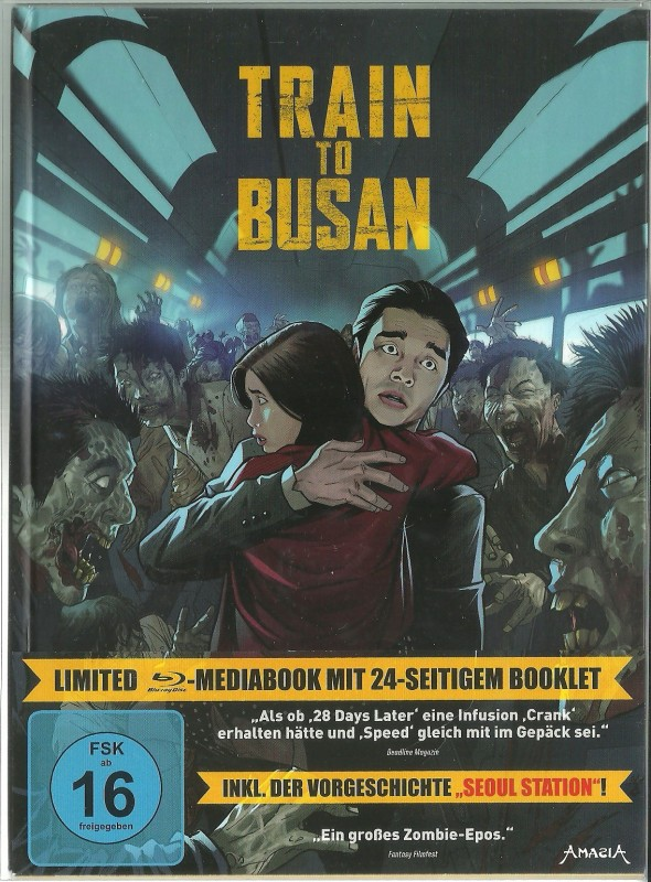 TRAIN TO BUSAN - Mediabook in Glanzschutzhülle