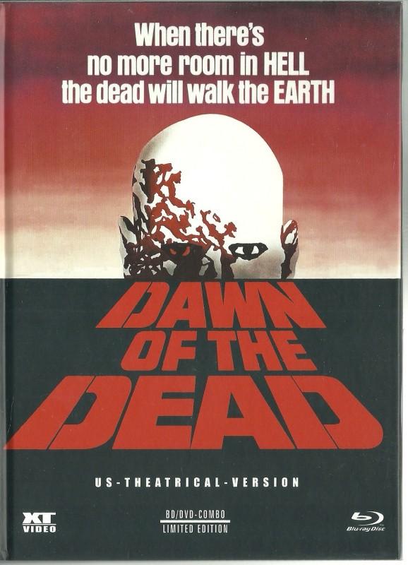 DAWN OF THE DEAD - Mediabook in Glanzschutzhülle