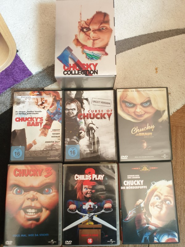 Chucky Collection UNCUT SteelBox UNCUT