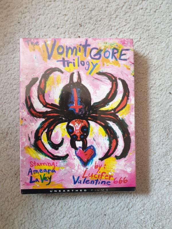 The Vomit Gore Trilogy by Lucifer Valentine UNCUT NEU OVP