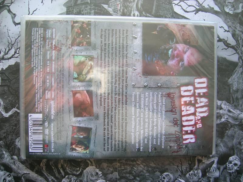DEAD AND DEADER INVASION DER ZOMBIES DVD EDITION NEU OVP
