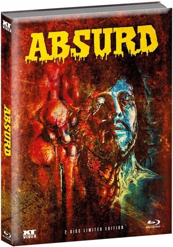 ABSURD - Ausgeburt der Hölle - Mediabook wattiert  OOP