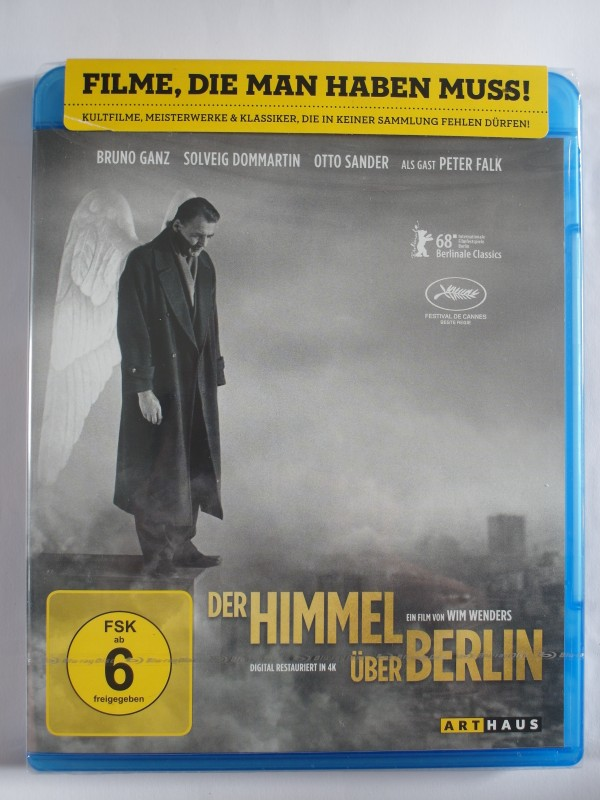 Der Himmel über Berlin - Wim Wenders, Peter Falk, Bruno Ganz