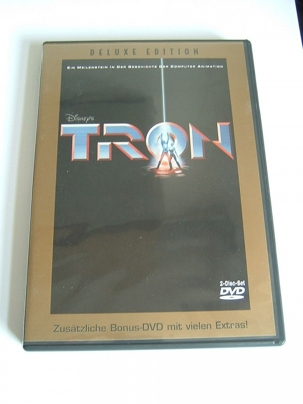 Tron (2 DVD´s, Deluxe Edition, selten)