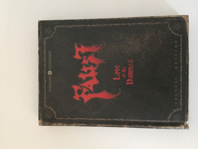 Faust Love of the Damned Buch Edition Streng Limitert
