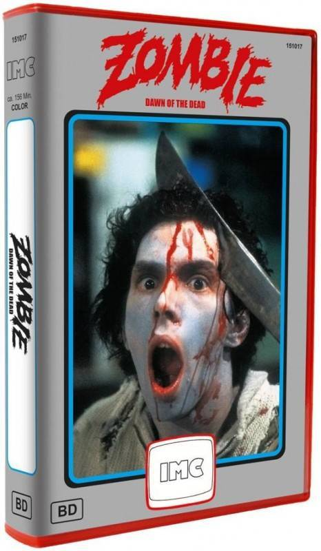 Zombie XT IMC Blu-ray Red Box 250 Limit Ovp Dawn Of The Dead