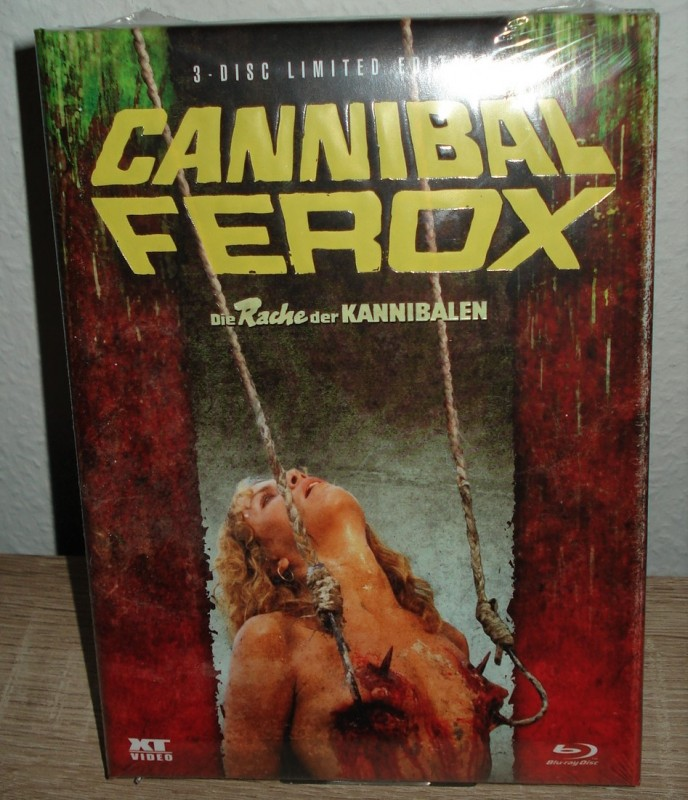 CANNIBAL FEROX lim. 1000 3 Disc XT Mediabook (NEU/OVP)