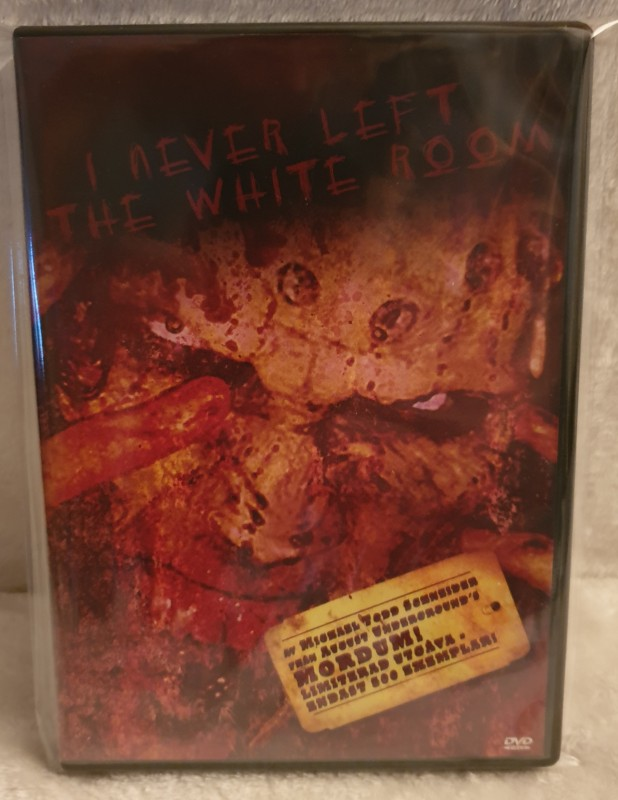 I NEVER LEFT THE WHITE ROOM, LIMITED EDITION 324/500, MORDUM