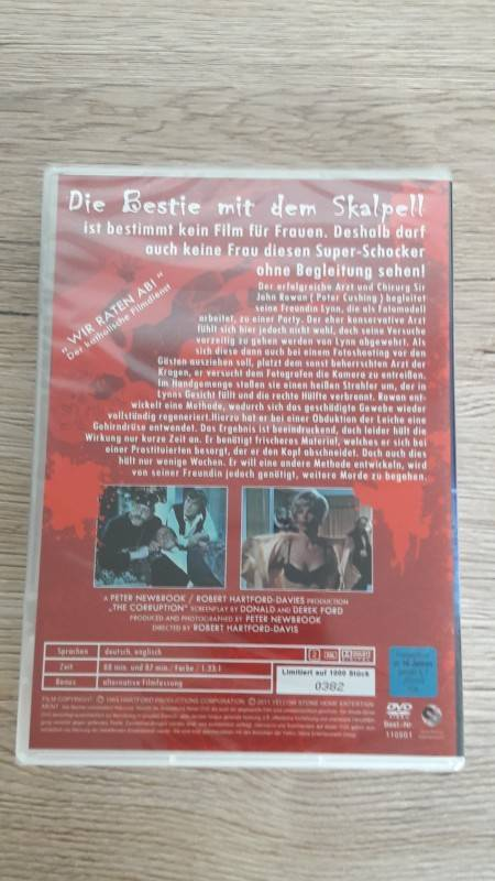 DIE BESTIE MIT DEM SKALPELL Gothic Horror Collection 1 UNCUT