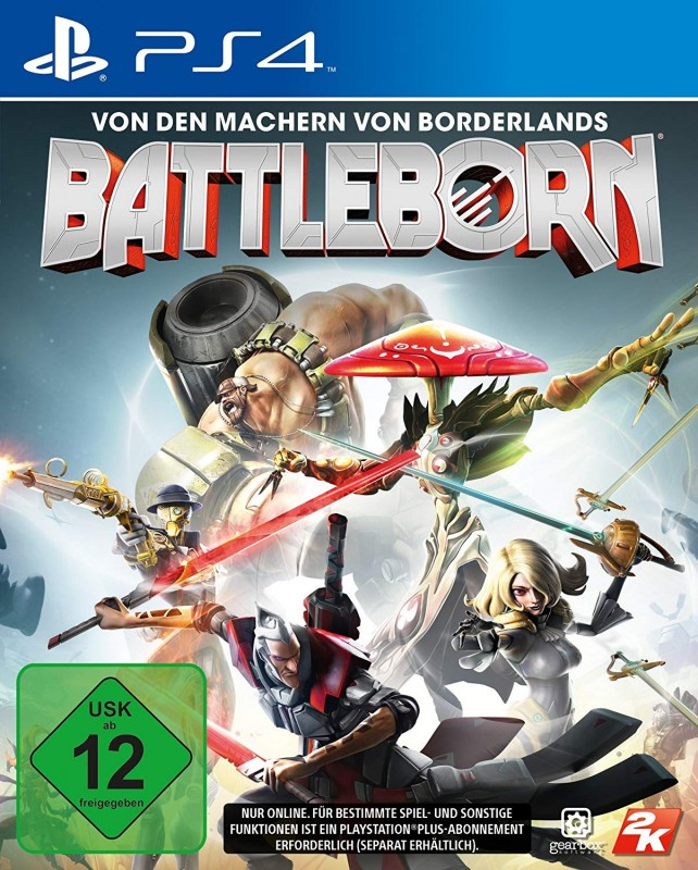 BattleBorn ( PS4 ) ( OVP )