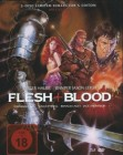 Flesh + Blood 3 Disc Blu Ray MEDIABOOK Uncut  Limited Ed