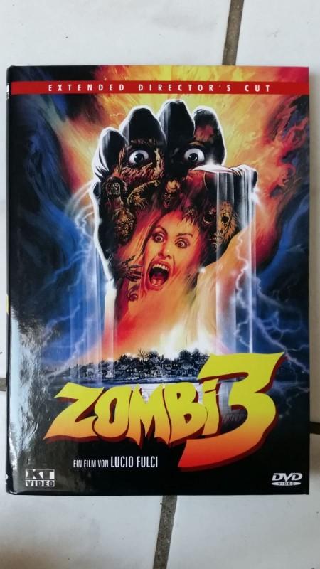 Zombi 3 - XT Video - kleine Hartbox - wie neu!