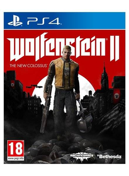 PS4 GAME Wolfenstein 2 II - The New Colossus