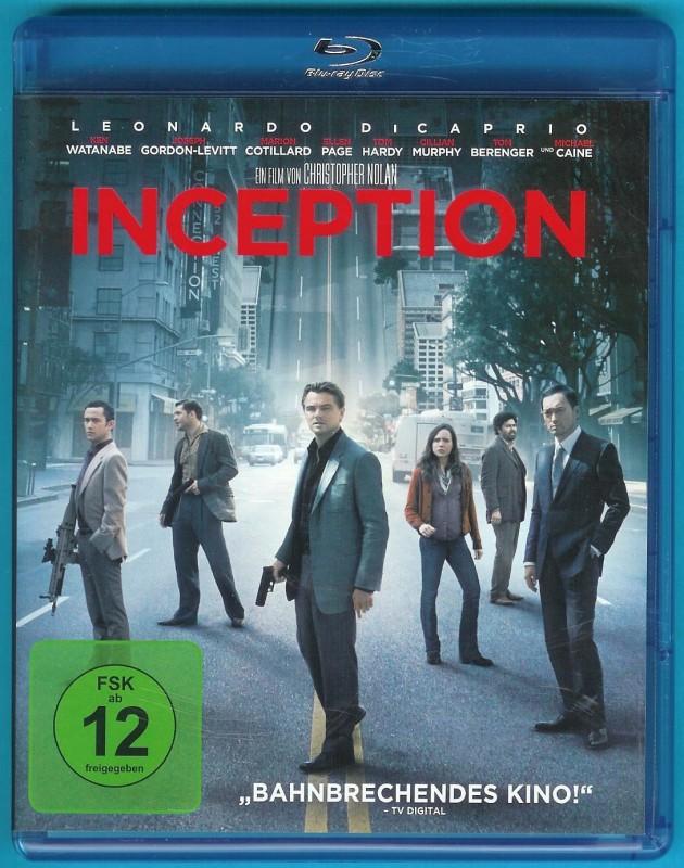 Inception (2 Blu-rays) Leonardo DiCaprio, Ellen Page NEUWERT
