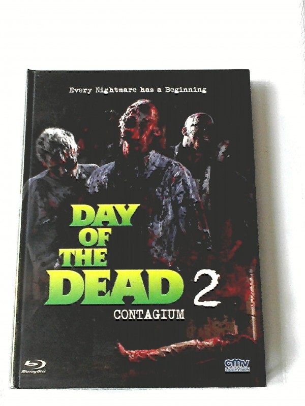 DAY OF THE DEAD 2 CONTAGIUM(ZOMBIE)LIM.MEDIABOOK UNCUT