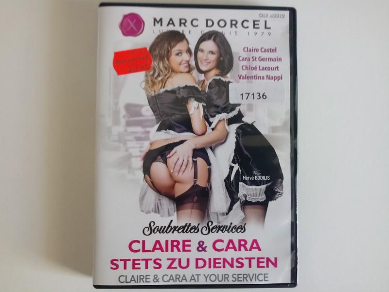 Marc Dorcel Claire & Cara-Stets zu Diensten