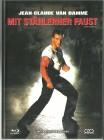 MIT STÄHLERNER FAUST - Mediabook  in Glanzschutzhülle