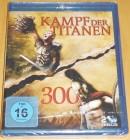 Kampf der Titanen & 300 Blu-ray Neu & OVP