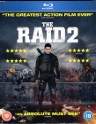 THE RAID 2 Blu-ray UK Import Asia Action Thriller Hammer