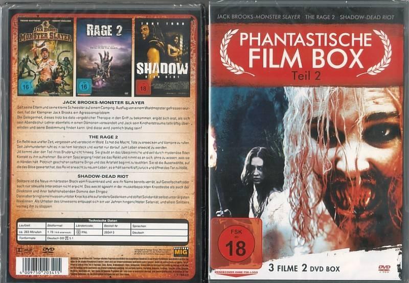 Phantastische Film Box 02  (39025412, NEU, OVP)