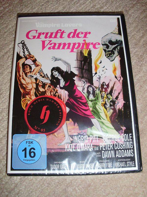 GRUFT DER VAMPIRE: Hammer-Collection 5 - Super rare DVD !